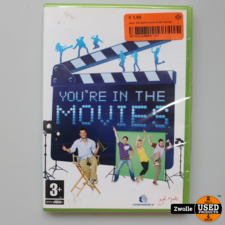 xbox xbox 360 game youre in the movies