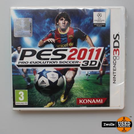PES 2011 Nintendo 3DS Game