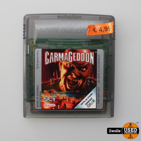 Garma Geddon Gameboy Color Game