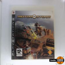 Playstation 3 game motor storm