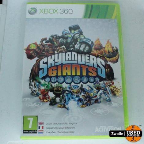 Xbox 360 game Skylanders giants