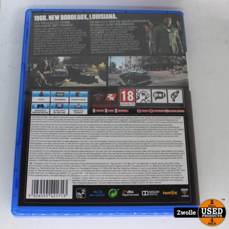 Playstation 4 game Mafia III