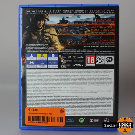 Call of Duty Black Ops IIII Playstation 4 Game