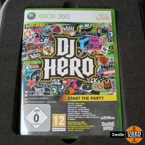 playstation 3 Dj Hero renegade editie