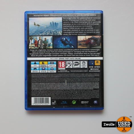 Game Grand Theft auto V | Playstation 4