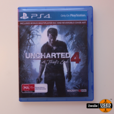 Playstation 4 game Uncharted 4