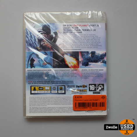 Playstation 3 game LOST PLANET 3
