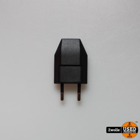 T160B Platte USB 1A thuislader wit T159B Platte USB 1A thuislader zwart