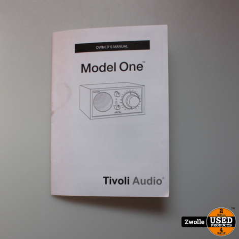 Tivoli Audio Model One Platinum Series