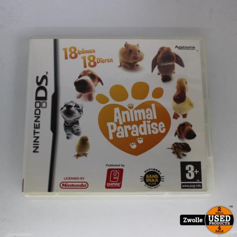 DS spel animal paradise