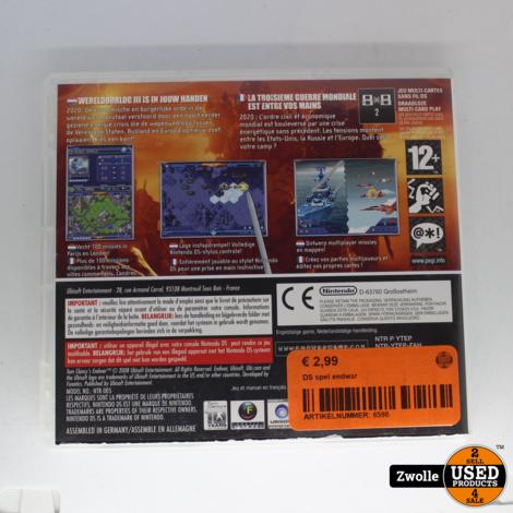 Nintendo DS game   Endwar