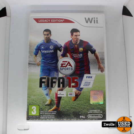 WII game FIFA 15