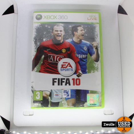 Xbox 360 game FIFA 10