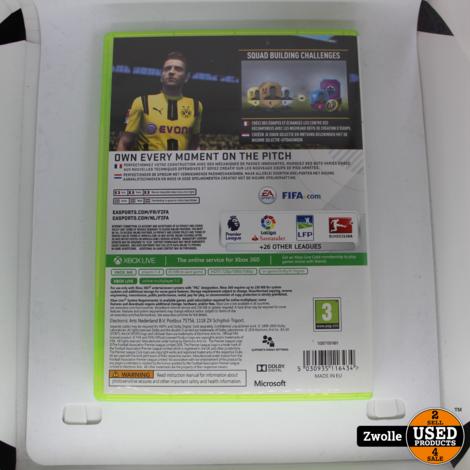 Xbox 360 game FIFA 17