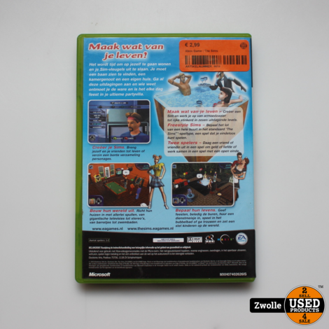 Xbox Game | The Sims