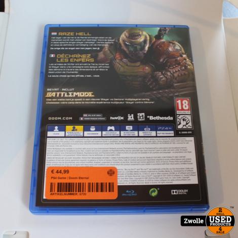 PS4 Game | Doom Eternal