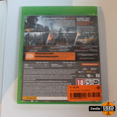 Xbox one spel | The Division