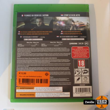 Xbox one spel Battlefield hardline