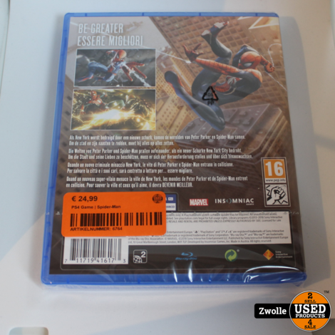 PS4 Game | Spider-Man