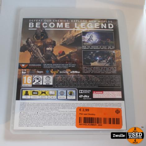 PS3 spel Destiny