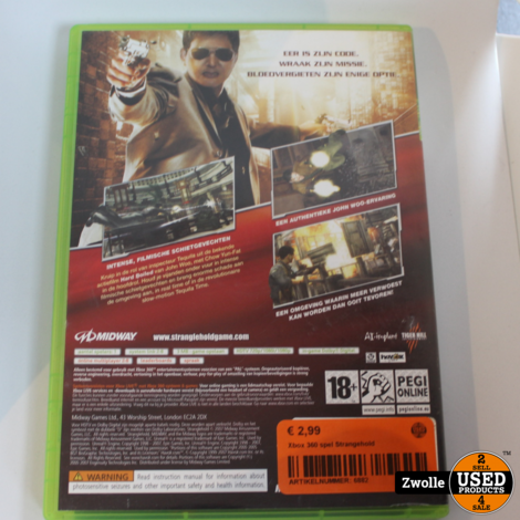 Xbox 360 spel Strangehold