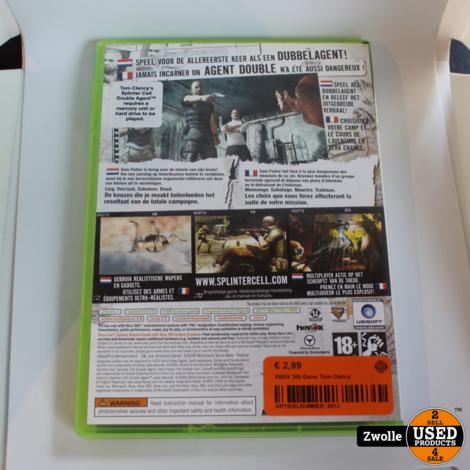 XBOX 360 Game Tom Clancy