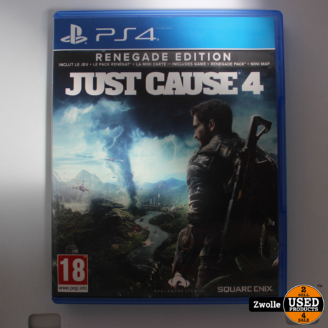 PS4 spel Just cause 4