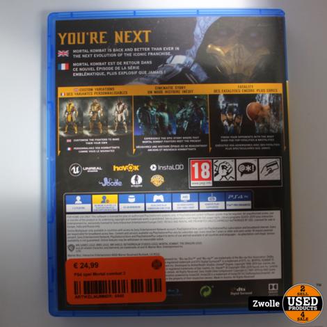 PS4 game | Mortal combat 2