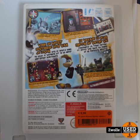 Wii game Rayman Raving rabbids 2