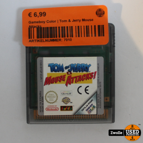 Gameboy Color | Tom & Jerry Mouse Attacks