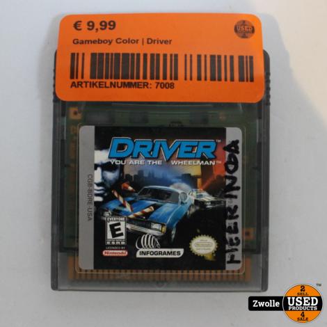 Gameboy Color   Driver
