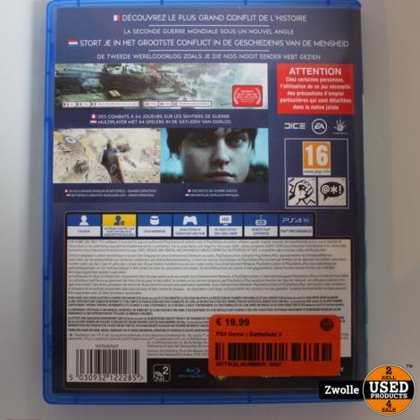 PS4 Game | Battlefield V