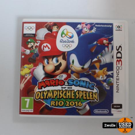3DS spel | mario & Sonic op de olympische spelen