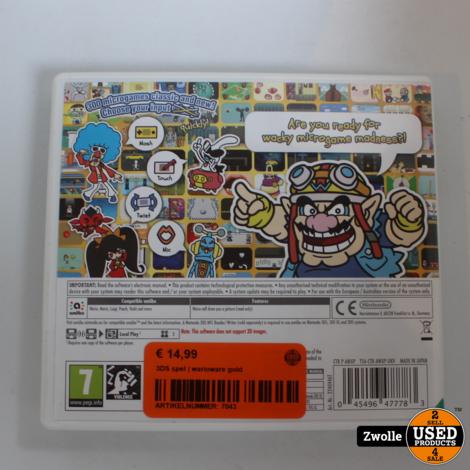 3DS spel | warioware gold
