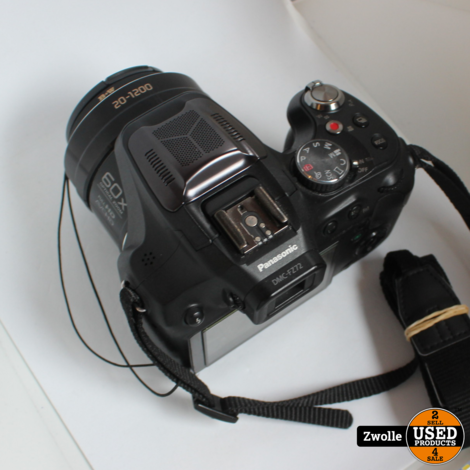 Lumix DMC-FZ72 Camera | Met tas | inclusief Acculader | Vlog camera