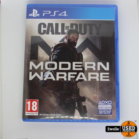 Playstation 4 Game Modern Warfare 2019