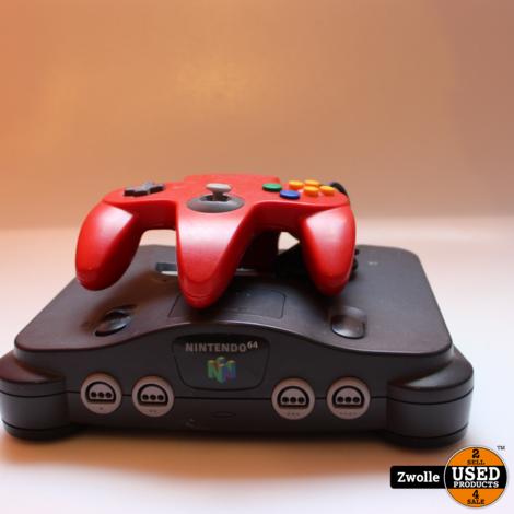Nintendo 64 console met 1 controller
