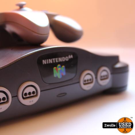 Nintendo 64 console met controller