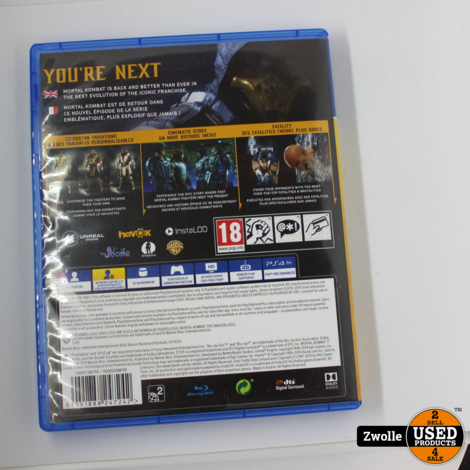 PS4 Game   Mortal Kombat