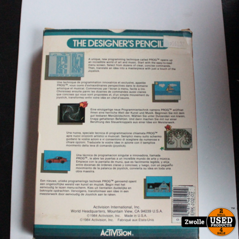 ZX Spectrum game The designer Pencil