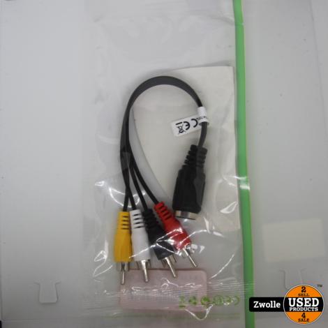 Nedis Din female - Tulp kabel