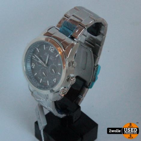August steiner horloge | Zilver | Nieuw in doos