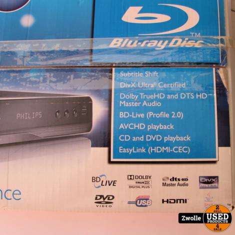 Philips BDP3100 Bluray speler   nieuw open doos