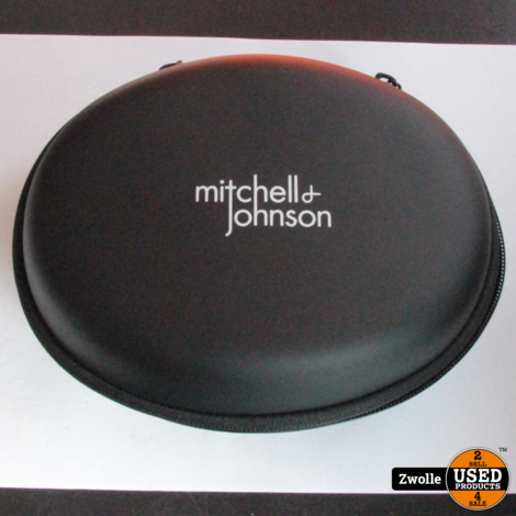 Mitchell &  Johnson Elektrostatische koptelefoon met draad | Compleet in doos