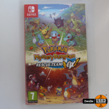 Nintendo Switch game Pokemon Mystery Dungeon Rescue Team DX
