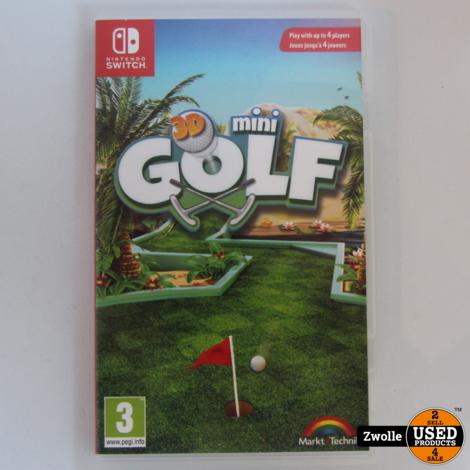 Nintendo switch mini golf 3d