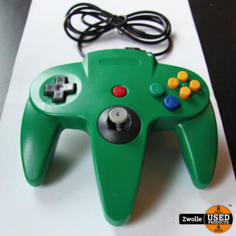 Nintendo 64 Controller groen | Met USB aansluiting