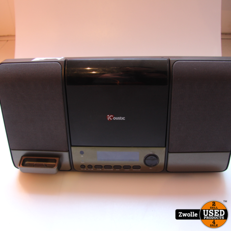 iCoustic radio cd speler