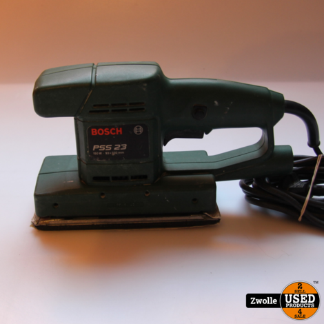 Bosch PSS-23 Schuur apparaat