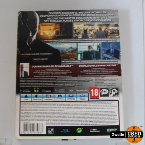 playstation 4 game hitman steelbook edition
